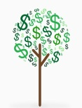 Tree Dollar Sign