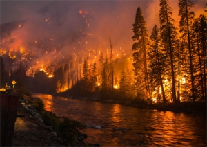2014 Chiwaukum Creek fire.