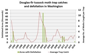tussock moth trap catch